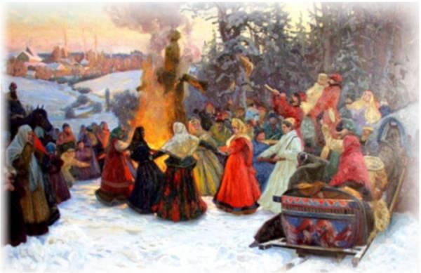 Масленица в Иванове с иван-чаем и пуэром
