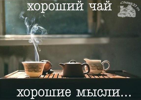 Хороший пуэр - хорошие мысли. Качественный чай в Иванове.